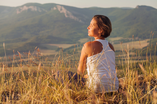 Mindful meditation helps you get the most out of life.